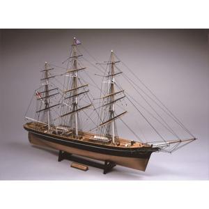 ウッディジョー☆木製帆船模型 1/100 カティーサーク(帆なし)|shoptakumi