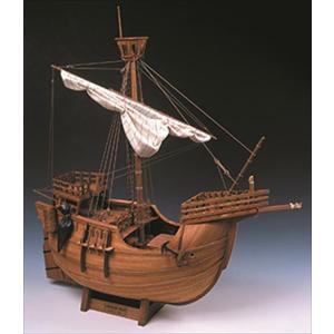 ウッディジョー 木製帆船模型 1/30 カタロニア船 組立キット 組立キット|shoptakumi