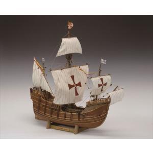 ウッディジョー 木製帆船模型 1/50サンタマリア 組立キット|shoptakumi
