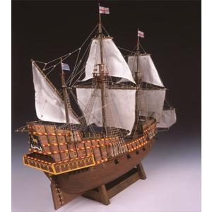ウッディジョー 木製帆船模型 1/50 ゴールデンハインド 組立キット|shoptakumi
