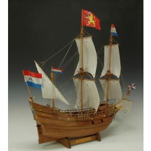 ウッディジョー 木製帆船模型 1/40 ハーフムーン 組立キット|shoptakumi