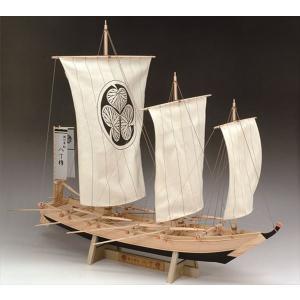 ウッディジョー☆木製和船模型 1/24 八丁櫓 【4560134351219】|shoptakumi