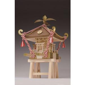 ウッディジョー☆木製模型 1/10 ミニみこし|shoptakumi