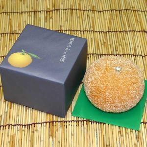 蜂蜜漬した夏みかんの中にようかんを流し込んであります。インパクトの大きい伝統の人気商品です。  ●内...