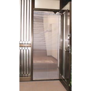全開式 玄関用取り付け簡単網戸 TQ-2  805759|shoptukiusagi