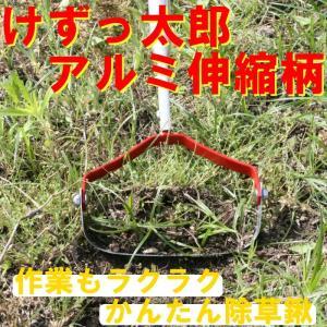 けずっ太郎 伸縮式アルミ柄 (替刃付)|shoptukiusagi