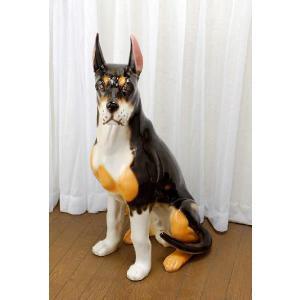 陶器犬の置物 ベルジアン|shoptukiusagi