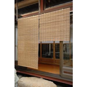 琵琶湖すだれ  二枚桟綾織  代萩 幅88×高さ160cm|shoptukiusagi