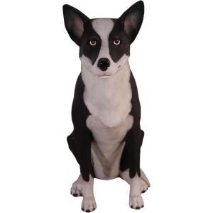 FRPアニマルオブジェ テーマは「凛」 犬の置物|shoptukiusagi