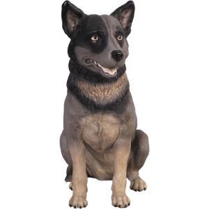 FRPアニマルオブジェ 私におまかせ犬 犬の置物|shoptukiusagi