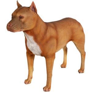 FRPアニマルオブジェ ピットブル 犬|shoptukiusagi