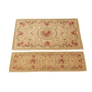 ゴブラン織 セニールマット 玄関マット 約70×120cm shoptukiusagi