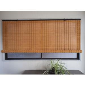 バンブースクリーン ライトブラウン 幅88×高さ135cm RC-812|shoptukiusagi