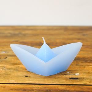 ボートキャンドル S/ライトブルー|shopv