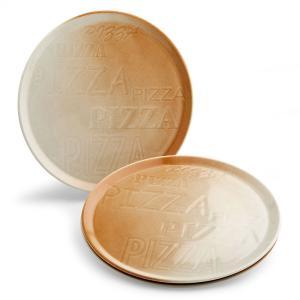 PIZZA ピザプレート/ブラウン|shopv