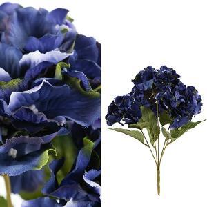 FLOWER アジサイフラワーM/ダークブルー|shopv