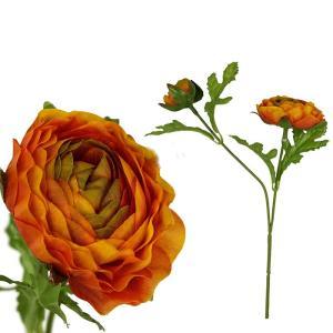 FLOWER ラナンキュラス2フラワーS/オレンジ shopv