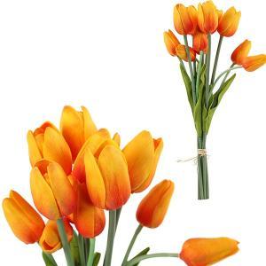 FLOWER チューリップ6本ブーケ/オレンジ|shopv