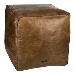 家具 茶色 四角 レザー 椅子 PTMD|shopv
