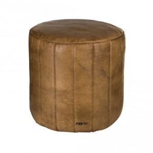 家具 茶色 丸型 レザー 椅子 PTMD|shopv