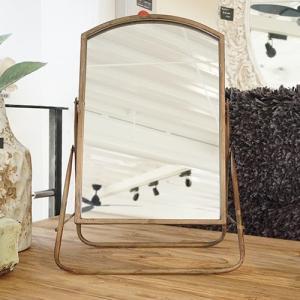 インテリア雑貨 鏡 スタンド 鉄 シンプル PTMD|shopv