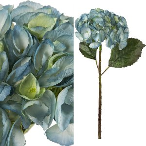 FLOWER アジサイ/ライトブルー|shopv