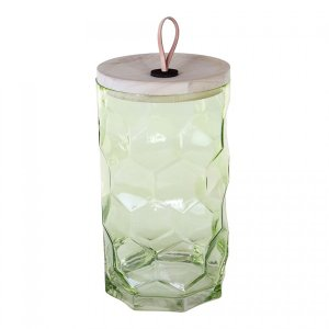 THILOガラスランタンL/グリーン shopv