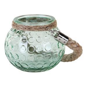 LENJA ガラスロープティーライト/グリーン shopv