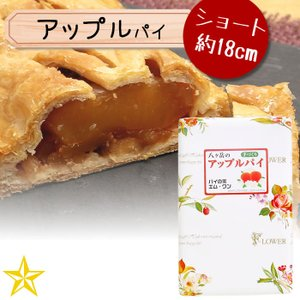 アップルパイ ショート 八ヶ岳 国産 りんご 手づくりパイ パイの家 エム・ワン|shopvision