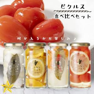 ピクルス 山梨県産 やまなしピクルス 4本セット (うずら×1 季節の野菜ピクルス×3) 各80g|shopvision
