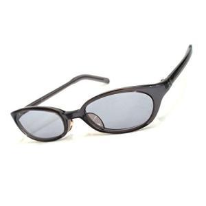 Hail-Vision ファッションサングラス シンプルデザイン オーバル型 UV400 ケース付き shopwin-win