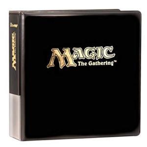 ウルトラプロ MTG マジック:ザ・ギャザリング 9ポケットシート用3インチ厚 (背表紙幅約7.5cm) アルバム shopwin-win