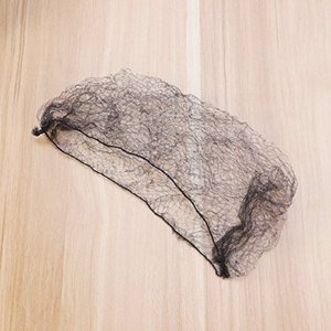 ROSENICE 髪ネット 100本 ヘアネットインビジブル弾性エッジメッシュ(黒) shopwin-win