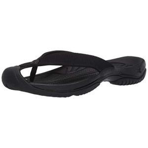 [キーン] ビーチサンダル WAIMEA H2(現行モデル) ワイメア エイチツー メンズ TRIPLE BLACK/BLACK 27.0 cm|shopwin-win
