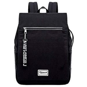 Zicac リュック デイパック メンズ レディース おしゃれ 大容量 軽量 USBポート イヤホンポート付き カジュアル 黒 撥水 多機能 盗難防止|shopwin-win