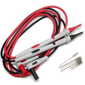 AideTek TL3 ニードル先端テストリード 極細1/細1.5mm/2mm 交換ニードル各2本付 shopwin-win