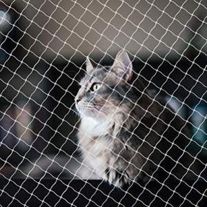 Crabitin ペット防護ネット ペットフェンスネット 安全ネット 網ネット 子供 犬 猫 侵入防止 落下防止 多用途 屋内安全ゲート 安全ガード|shopwin-win