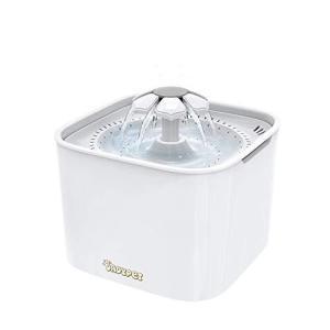 DADYPET ペット給水器 自動給水器 水飲み器 小型犬用 猫用 (白い)|shopwin-win