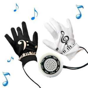 [KIKAR] ピアノグローブ 音楽手袋 面白い電子楽器 Piano Gloves 楽器玩具 [日本語と英語の説明書付き]|shopwin-win