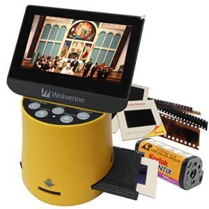 Wolverine F2DTITAN フィルムスキャナー 35mm 110 126 127 8mm スーパー8mm apsスライドフィルム対応 高画質 shopwin-win