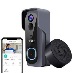 ワイヤレスインターホン ビデオドアホン インターフォン 無線 WiFi スマホ対応 ビデオドアホン ワイヤレスチャイム 防犯カメラ ビデオドアベル 呼|shopwin-win