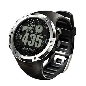 ショットナビ(Shot Navi) ゴルフナビ GPS 腕時計型 ブラック 日本プロゴルフ協会推奨 SN-W1-FW shopwin-win