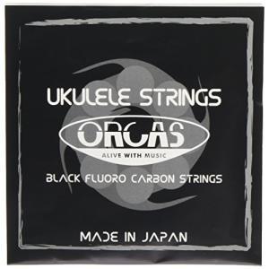 【ORCAS】 ウクレレ弦 セット OS-MED (ミディアムゲージ ソプラノ コンサート用)|shopwin-win