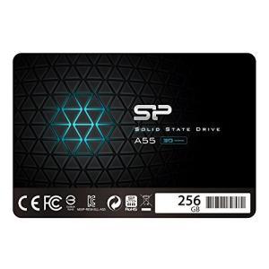 シリコンパワー SSD 256GB 3D NAND採用 SATA3 6Gb/s 2.5インチ 7mm PS4動作確認済 3年保証 A55シリーズ SP shopwin-win