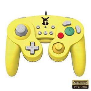【任天堂ライセンス商品】ホリ クラシックコントローラー for Nintendo Switch ピカチュウ【Nintendo Switch対応】 shopwin-win
