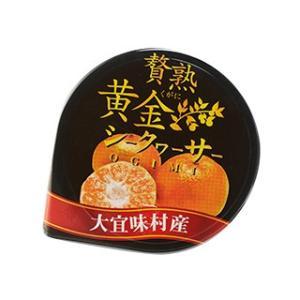 贅熟 シークヮーサー ゼリー 25g 沖縄 贅沢 果汁デザート プチギフト 高級 挨拶 朝食 内祝 ...