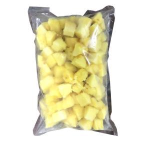【送料無料】 石垣島 冷凍 カットパイナップル お買い得 1kg 業務用 おこさま 安心 安全 おやつ ヨーグルトに