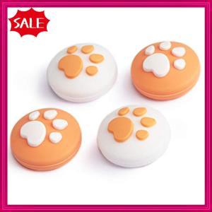 ジョイスティック 猫の爪 シリコン素材 滑り止め 左/右のロッカー コントロール 保護 可愛い 親指グリップキャ|shopyamamoto