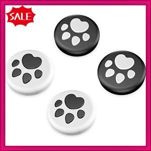 【Switch/Lite対応】 アナログスティックカバー 保護カバー (4個入り) 猫 肉球 Joy-Con アシストキャップ 親指グリッ|shopyamamoto