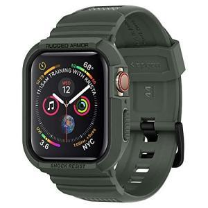 【Spigen】 Apple Watch バンド 一体型 ケース Series 4 44mm 対応 ...